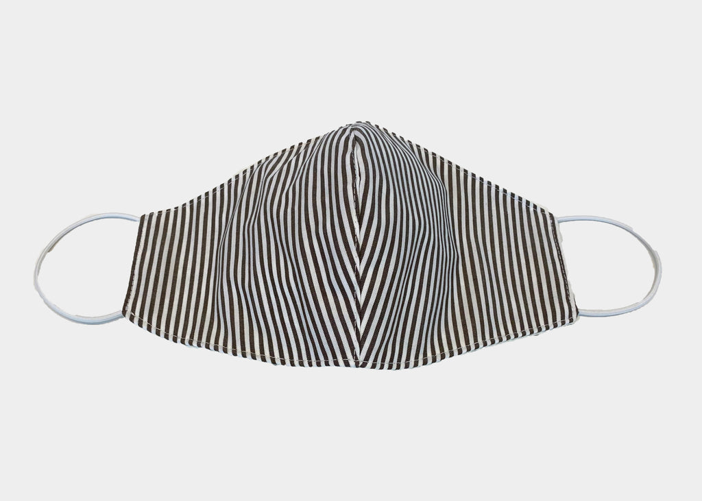 FREEDOM FACE COVERING - BEIGE STRIPE
