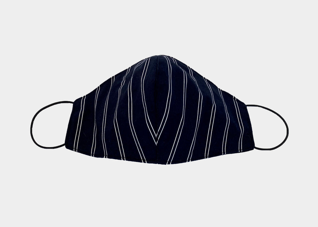 FREEDOM FACE COVERING - NAVY STRIPE