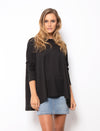 JULIA TOP - BLACK