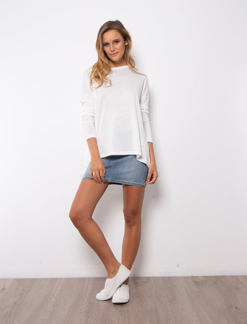 JULIA TOP - WHITE