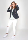 BROOKE BLAZER - NAVY
