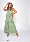 PAT JUMPSUIT - GREEN