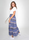 DIVA SKIRT - BLUE BOHO - LAST STOCK