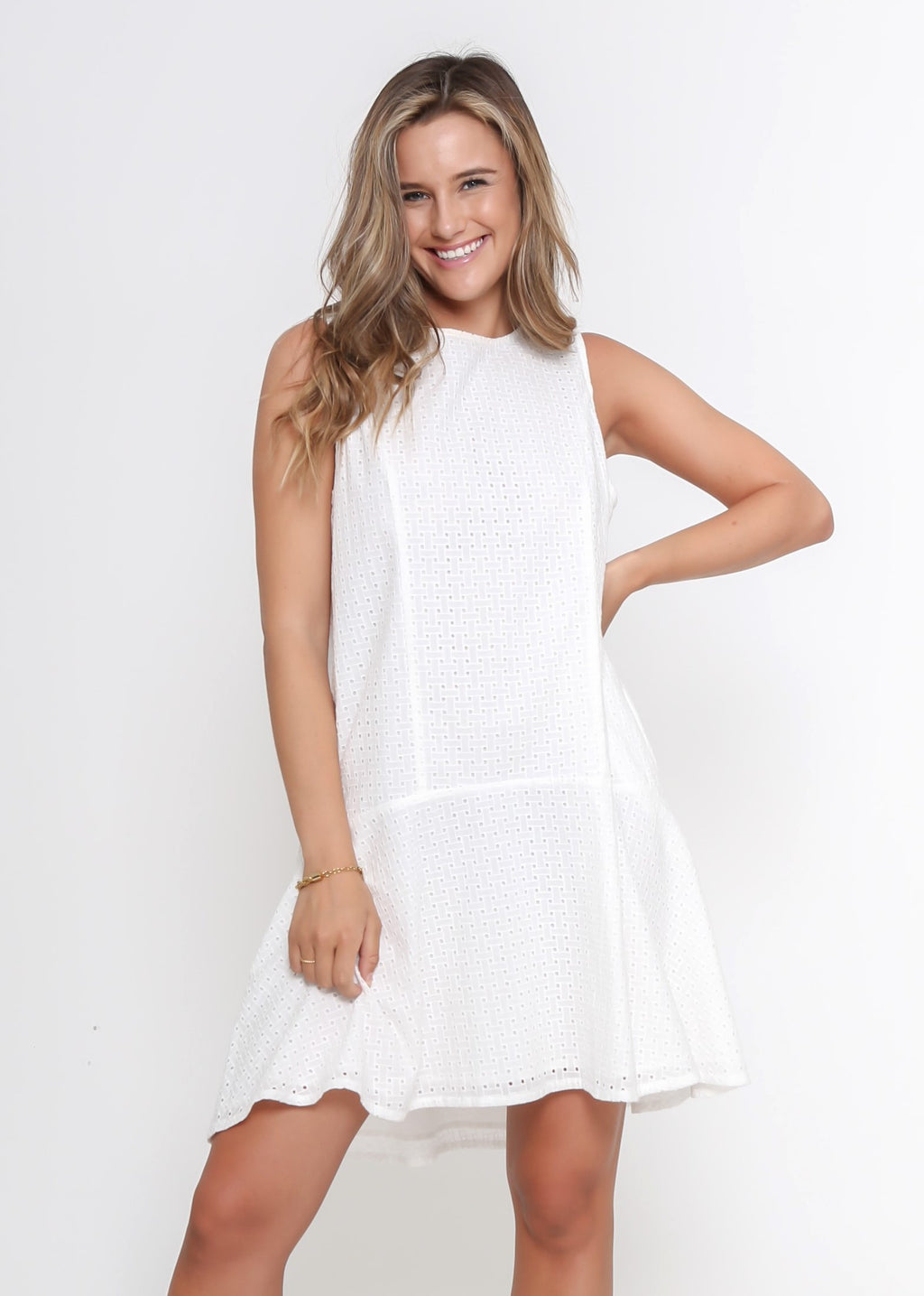 NEW - CRYSTAL DRESS - WHITE