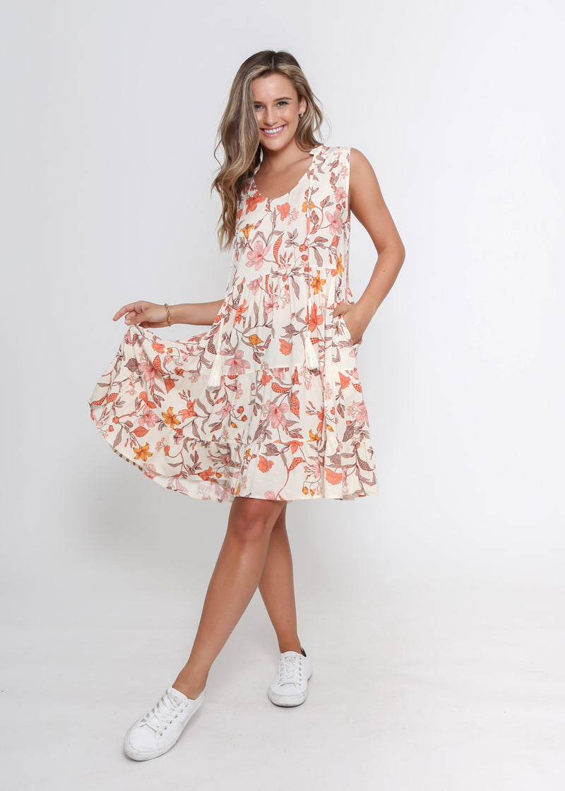 NEW - COCO DRESS - FLORAL PRINT
