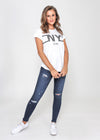 NY CITY TEE - WHITE