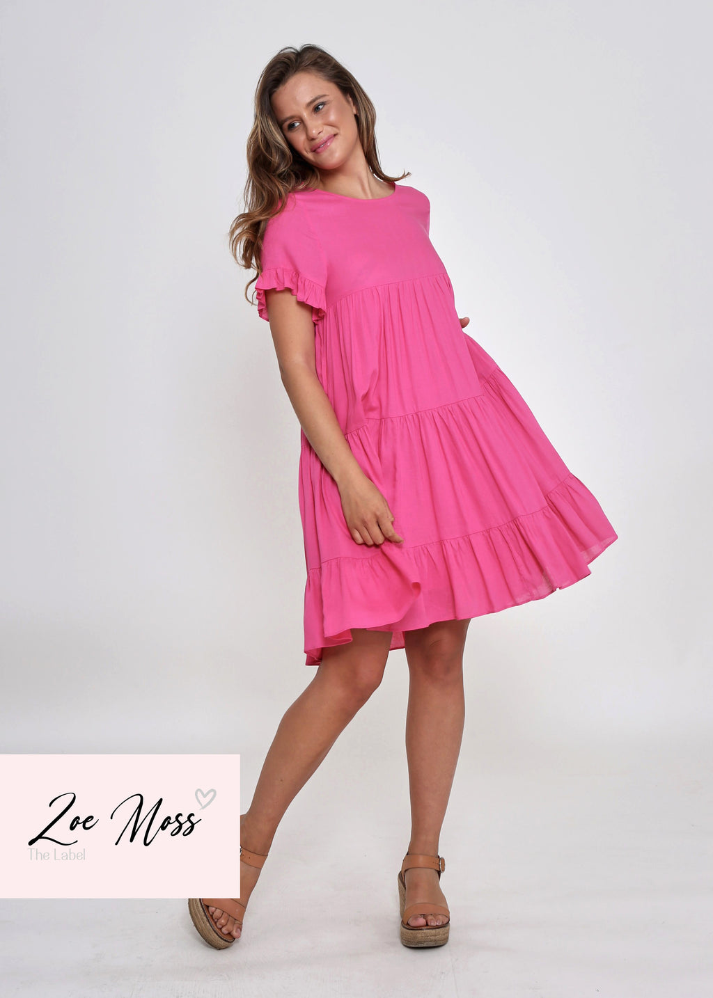 NEW - FINLEY DRESS - FUCHSIA DREAM