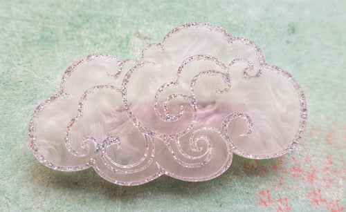 Kimchi and Coconut -  Cloud Brooch