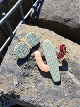 Tiger Tree - Cactus Brooch (Autumn)