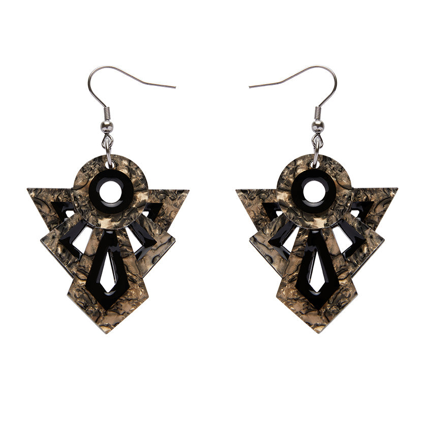Erstwilder - MODERNIST MOTIF EARRINGS