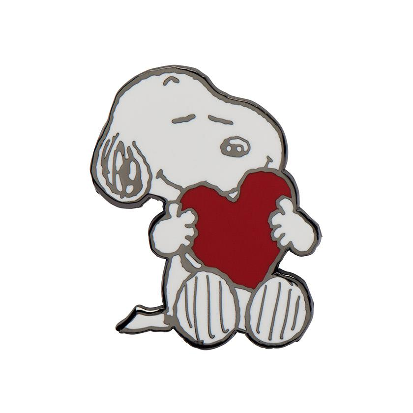 Erstwilder x The Peanuts - Snoopy's Big Heart Enamel Pin