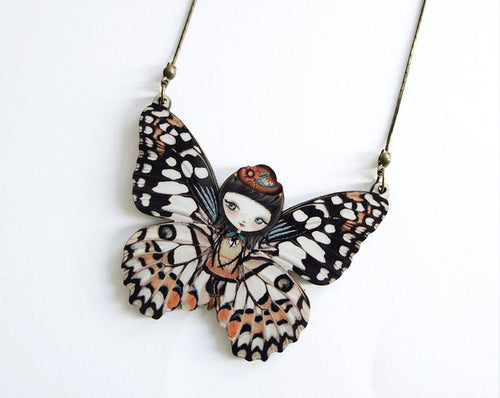 LaliBlue - Butterfly Necklace