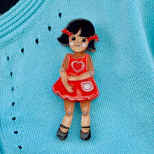 Erstwilder - BENDY WENDY DOLL BROOCH ♡