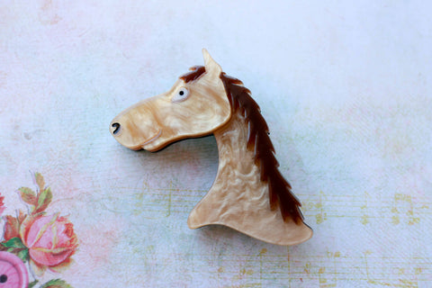 Duck Duck Moose - Molly the Mare Brooch