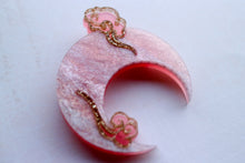 Kimchi and Coconut - Pink Moon Brooch (Exclusive collaboration)