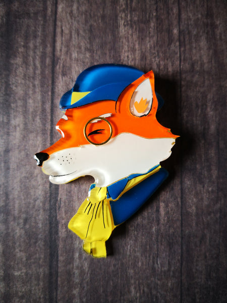 Vera Chan - Sir Francis the fox