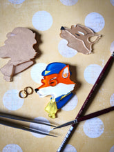 Vera Chan - Sir Francis the fox acrylic brooch