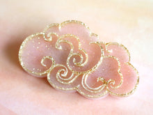 Kimchi and Coconut -  Pink cloud Brooch