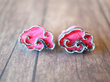 Kimchi and Coconut -  Cloud Earrings