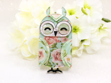 Wintersheart - Minty the Long Eared Owl - Brooch