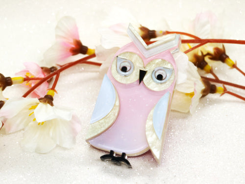 Wintersheart - Remy the Great Horned Owl - Brooch