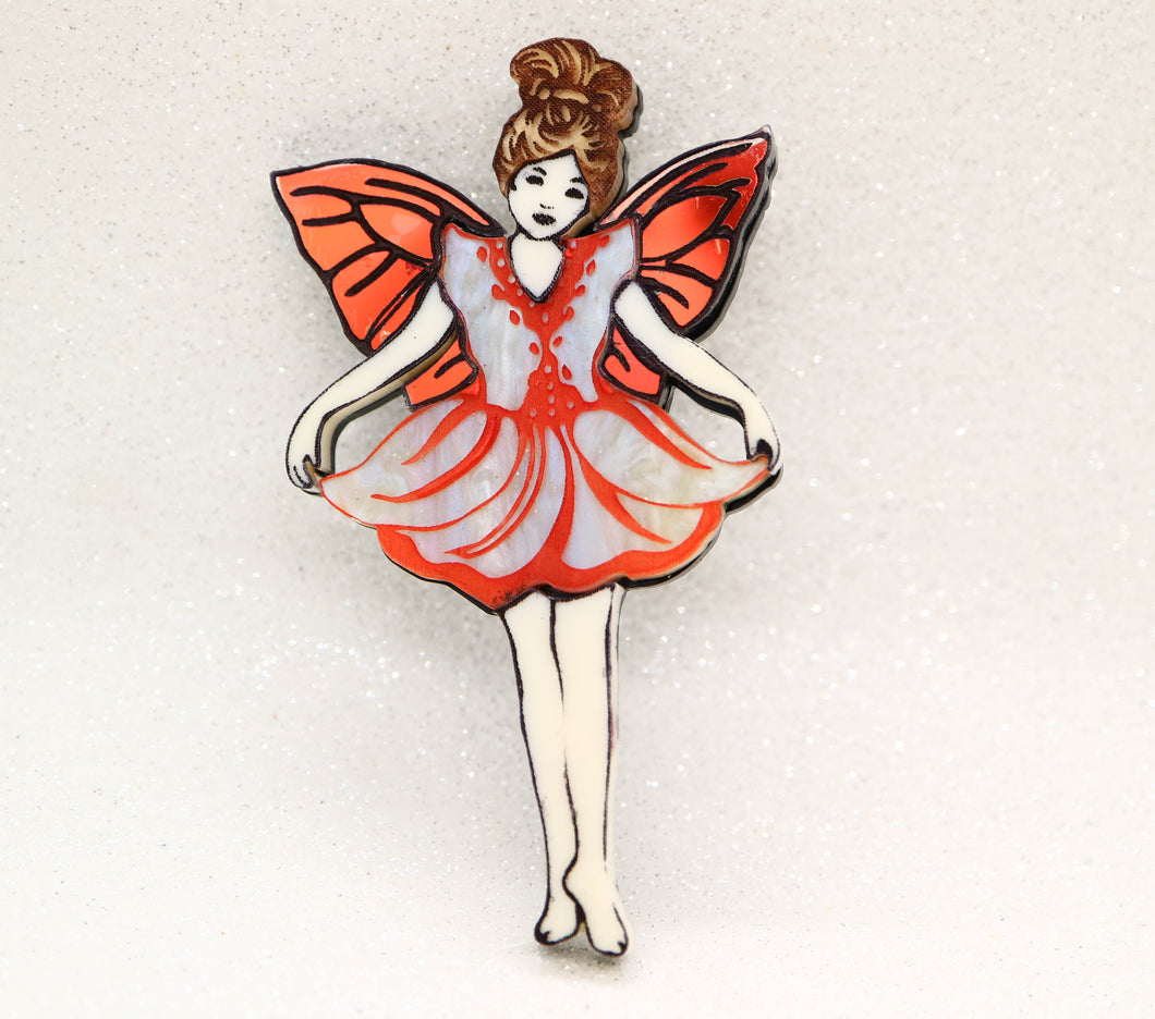 Ottopiary - Fairy brooch