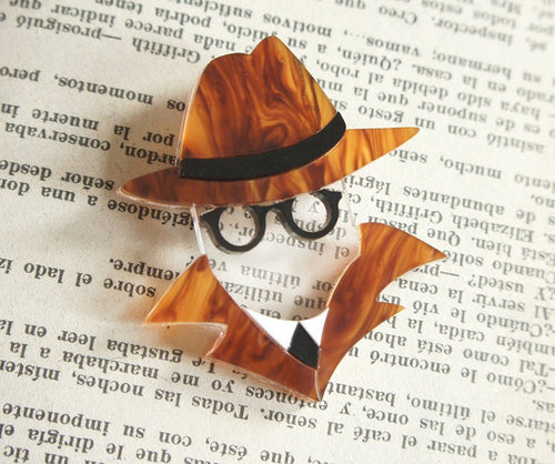 Laliblue - Invisible Man Brooch