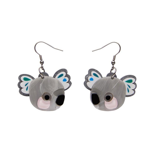 Erstwilder x Pete Cromer - The Kuddly Koala Earrings