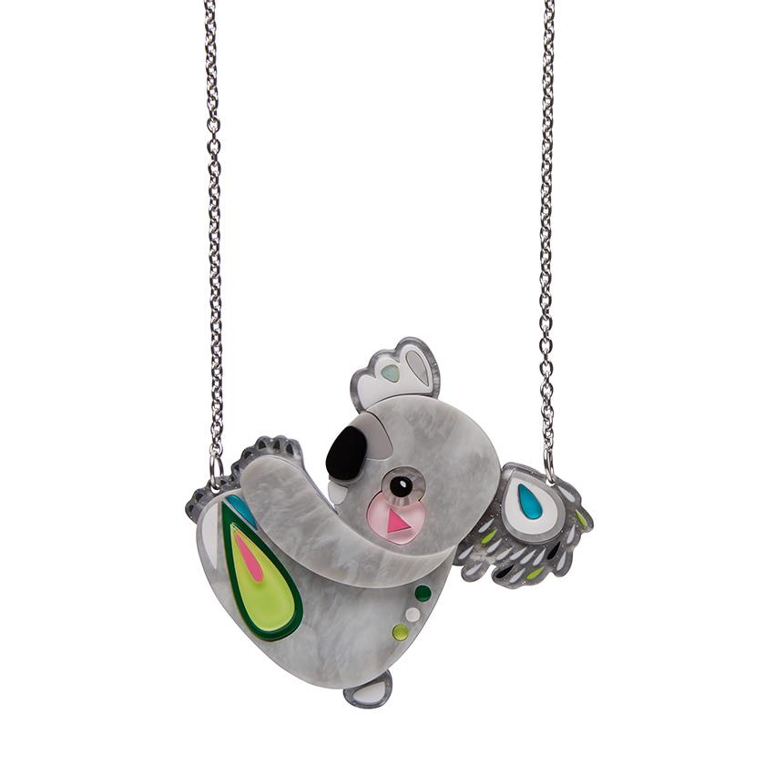 Erstwilder x Pete Cromer - The Kuddly Koala Necklace
