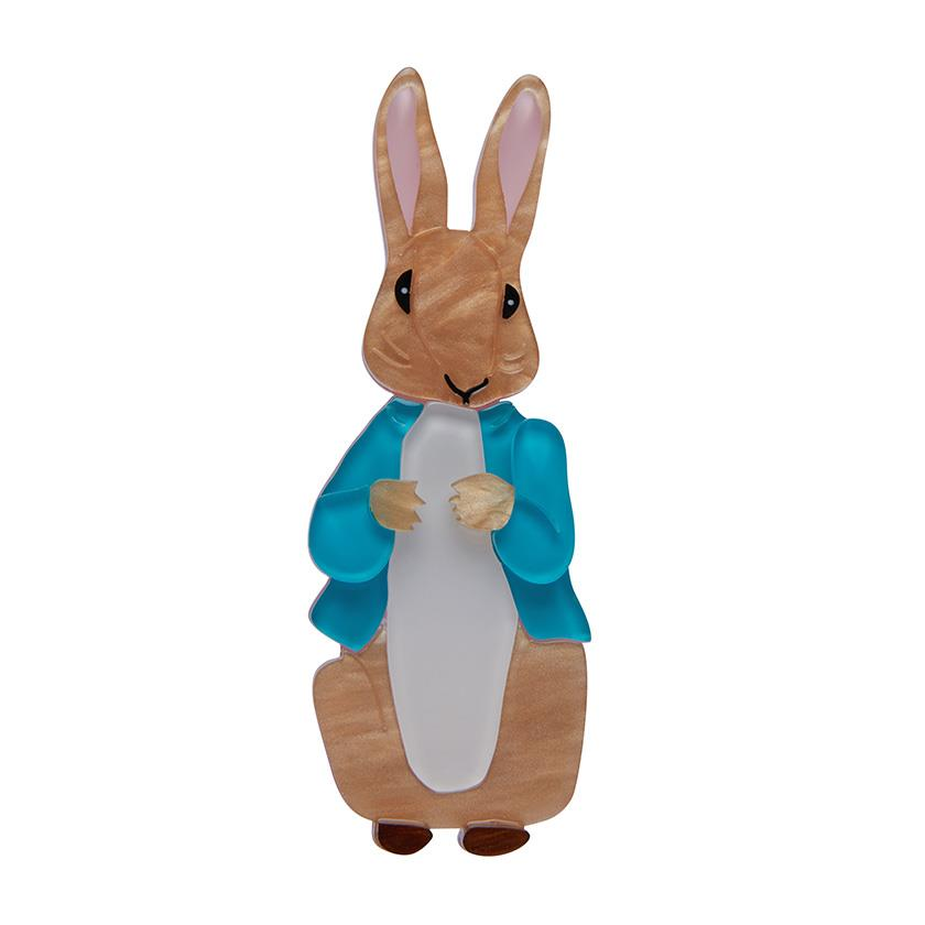 Erstwilder - PETER RABBIT BROOCH (2020 RECOLOUR)