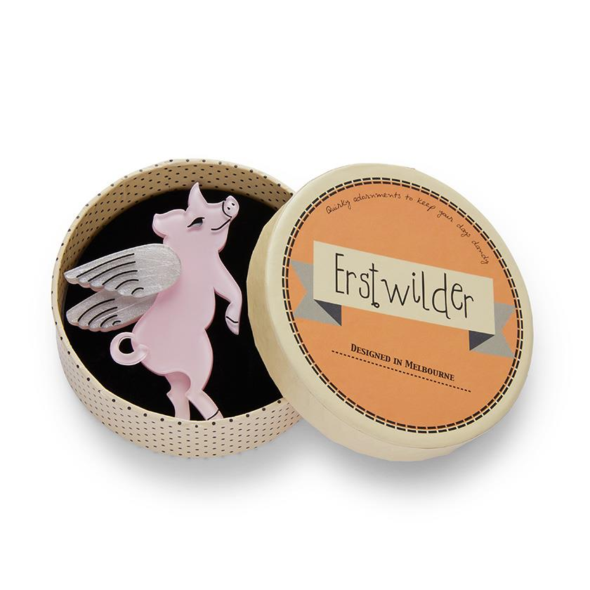 Erstwilder - Pigs Can Fly Brooch (2020)