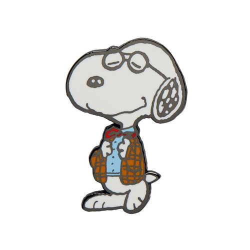 Erstwilder x The Peanuts - Professor Snoopy Enamel Pin