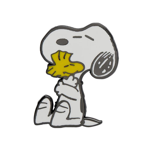 Erstwilder x The Peanuts - Snoopy's Warm Hug Enamel Pin