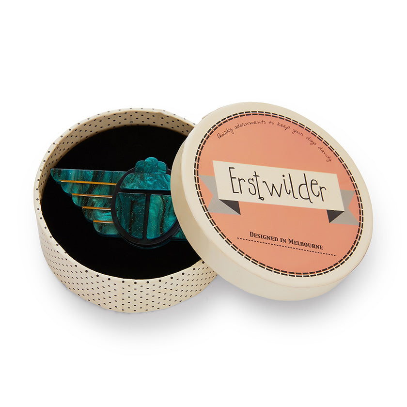 Erstwilder - ANCIENT EGYPT REVIVAL BROOCH