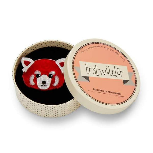 Erstwilder - LESSER RUSTY RED PANDA BROOCH