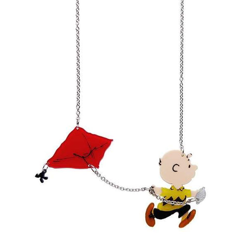 Erstwilder x The Peanuts - Fly a Kite Necklace