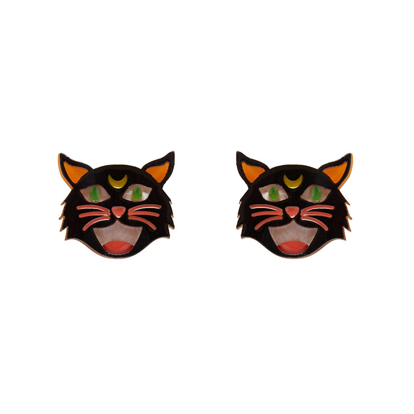Erstwilder - HEX KITTEN EARRINGS