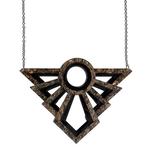Erstwilder - MODERNIST MOTIF NECKLACE
