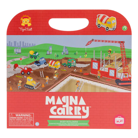 Tiger Tribe - Magna Carry: Busy Builders