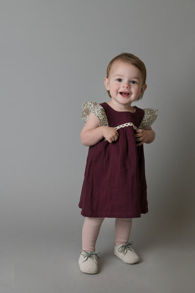 Love Henry - Maisy Dress - Plum
