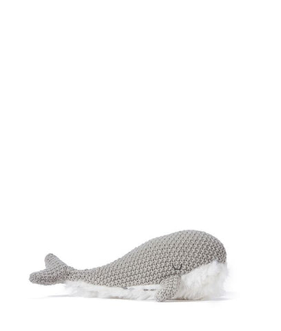 Nana Huchy - Wanda Whale Rattle - Grey - My Sweet Fox