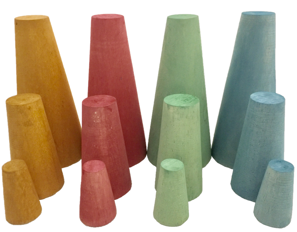 Papoose - Earth Stacking Cones (12 pc)