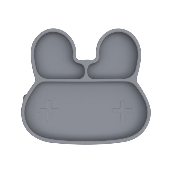 We Might Be Tiny - Stickie Plate Bunny (Grey) - My Sweet Fox