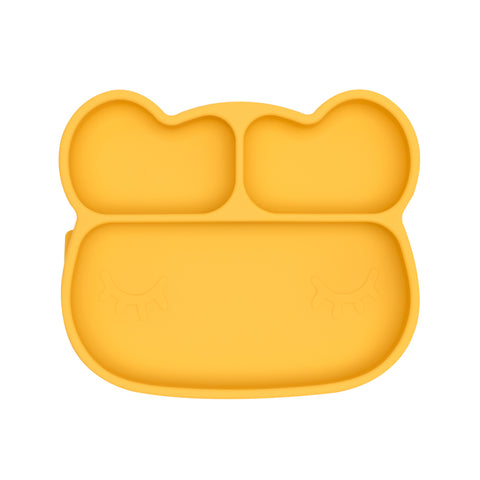 We Might Be Tiny - Stickie Plate Bear (Yellow) PREORDER - My Sweet Fox
