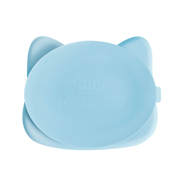 We Might Be Tiny - Stickie Plate Cat (Powder Blue) - My Sweet Fox