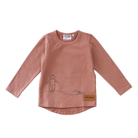 Wild Island Apparel - The Wanderer Top (Dusty Pink)