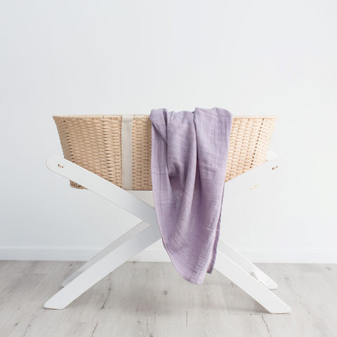 Love and Lee - Muslin Swaddle (Little Lilac)