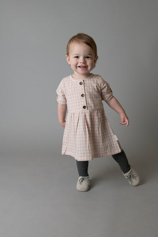 Love Henry - Rosie Dress - Pink Check