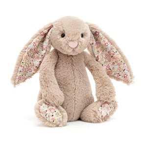 Jellycat Blossom Bea Beige Bunny (small)