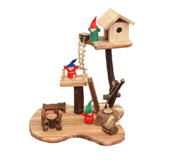 Qtoys - Tree Style House